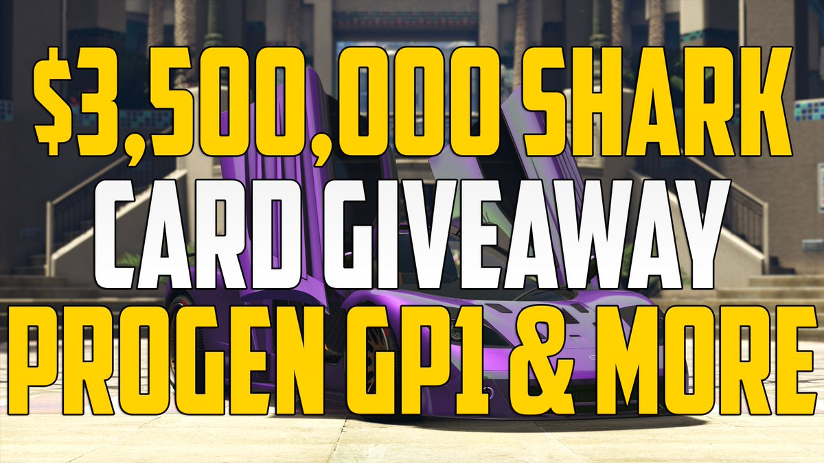 $3 500 000  GTAOnline Shark Ca $500 card