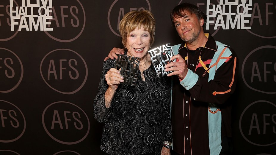 .@MaclaineShirley nominates Oprah Winfrey for president at Texas Film Awards