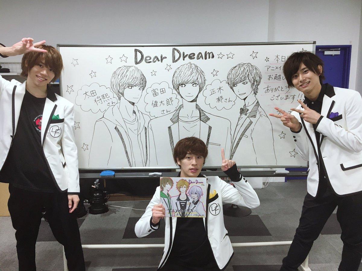 本日の「DearDreamがゆく 全国行脚の旅」はアニメイト小倉さんからスタート。素敵な会場に大興奮!メンバーもやる気に