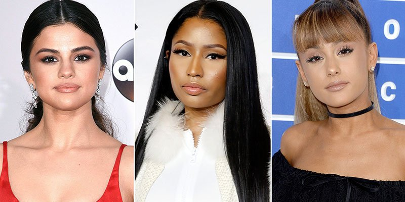 Selena Gomez and Ariana Grande are on team Nicki Minaj in rapper's beef with Remy Ma