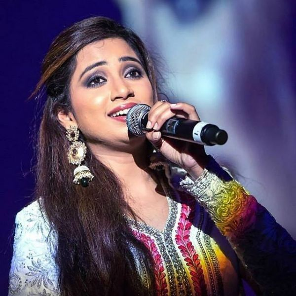 wishes the beautiful singer Shreya Ghoshal a very Happy Birthday.