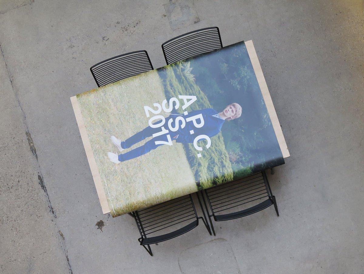 #APC 2017年 夏コレクション キャンペーンビジュアル スタジオ / パリ マダム通り https://t.co/DSV6Jodxz2
