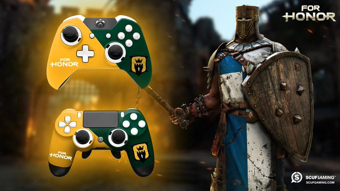 SCUF's For Honor Giveaway: Win A Custom Controller
