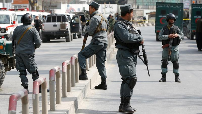 Taliban kill eight Afghan police in 'insider attack'