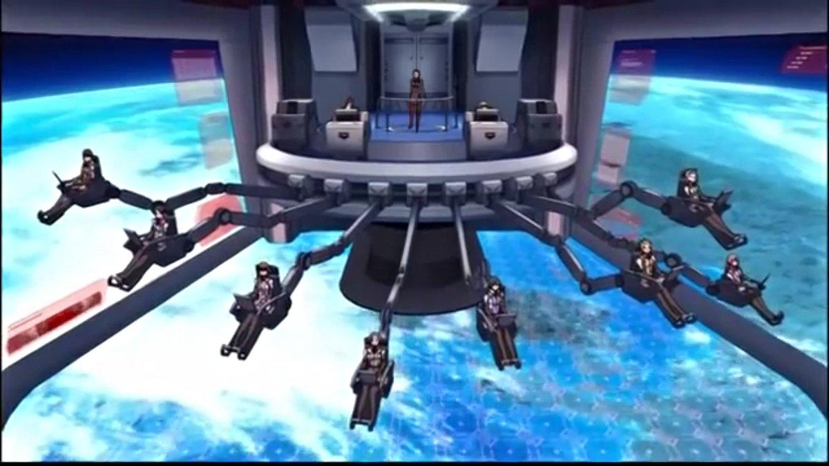 キャプテンアース最大の謎各搭乗員の距離が妙に遠い