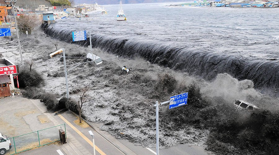 Fukushima 6yrs on: Devastating power of Japanese tsunami caught on camera (VIDEOS)