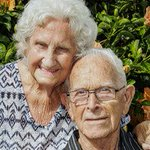 Happy couple celebrate 70th year