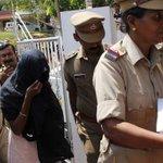 Woman in judicial custody