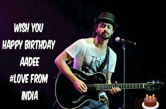 Wish You Happy Birthday Atif Aslam... Big Fan Of Yours..