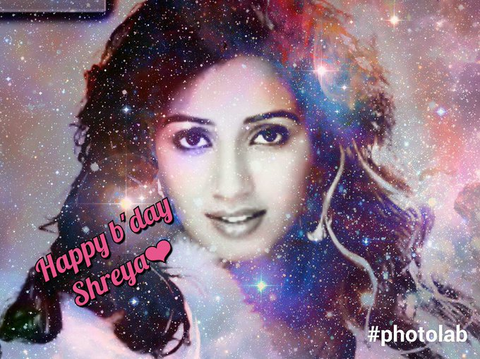 Wish u happy birthday Shreya Ghoshal