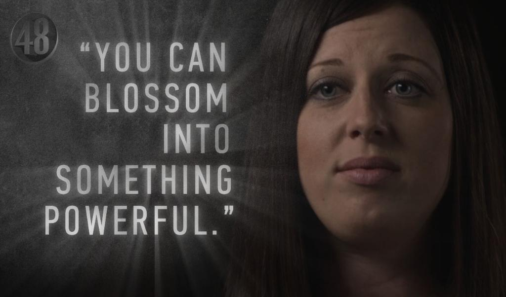 Though she was left with scars, Jennifer felt victorious.   Her story, Saturday 10/9c
