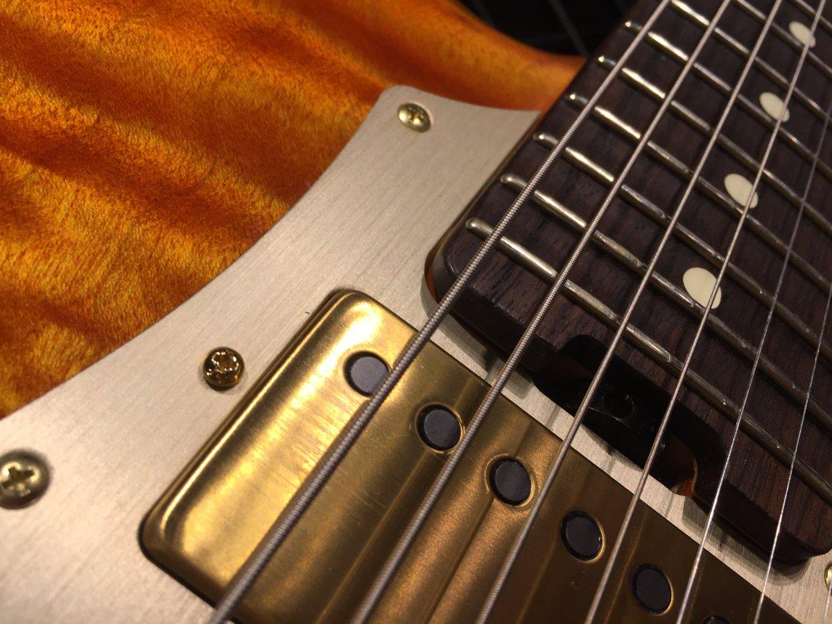 【実機展示会】3/12~26の期間、 [-CERBERUS-]を発表された #大村孝佳 氏が実際に使用されているギターを