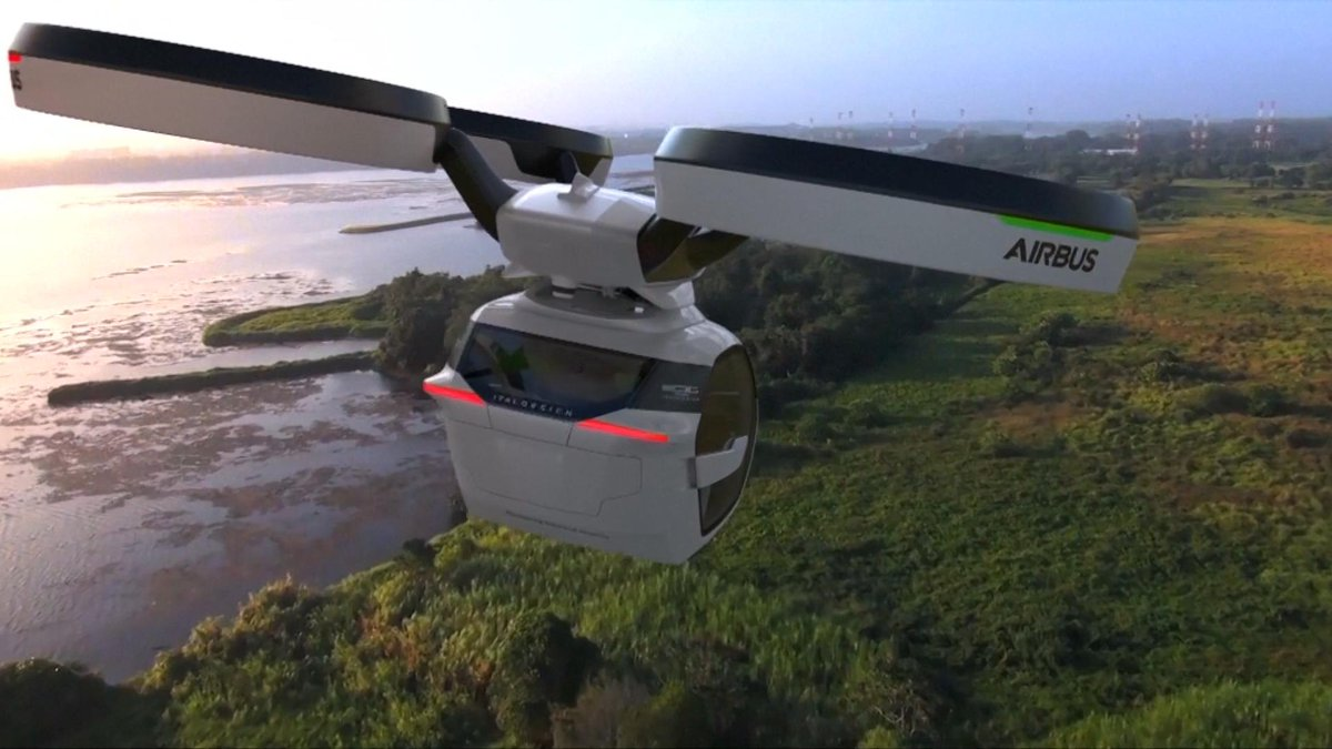 Avoid gridlock with this self-driving car drone hybrid via @NBCNewsMACH