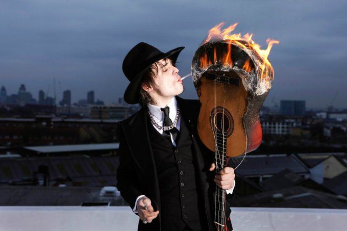 Happy Birthday \Pete Doherty\ Band: The Libertines Age: 38
