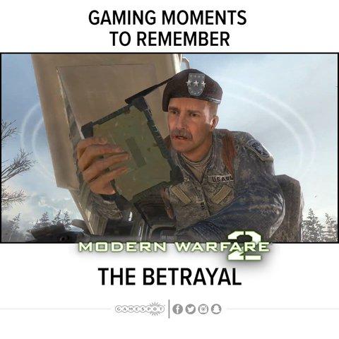 Saddest moment in Call of Duty: Modern Warfare 2 #neverforget
