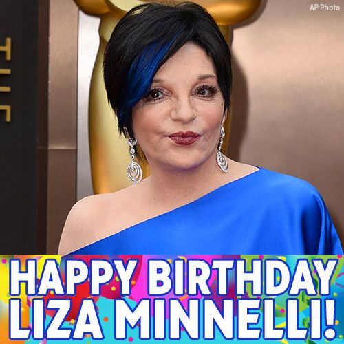 Life is a Cabaret, especially on your birthday! Happy Birthday to Liza Minnelli!