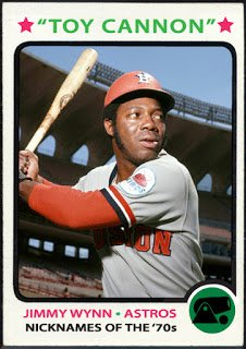 "Happy 75th Birthday to the ""Toy Cannon\"", slugger Jimmy Wynn!!!"