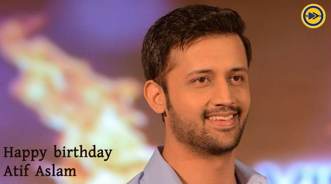 Happy birthday to Atif Aslam!!!