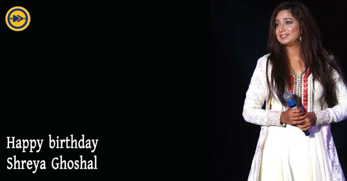 Happy birthday to Shreya Ghoshal !!!
