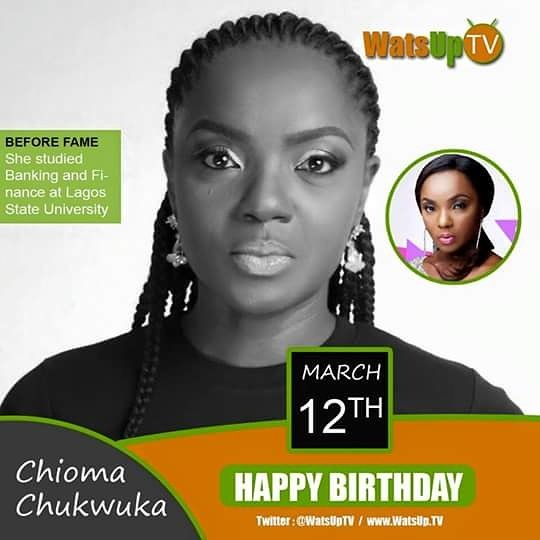 Happy Birthday Chioma Chukwuka