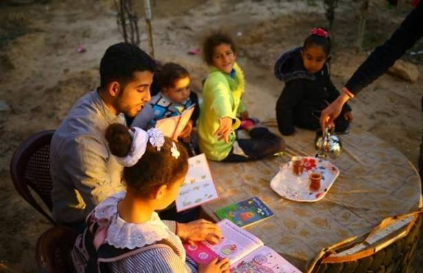 First English library in Gaza to open window to world