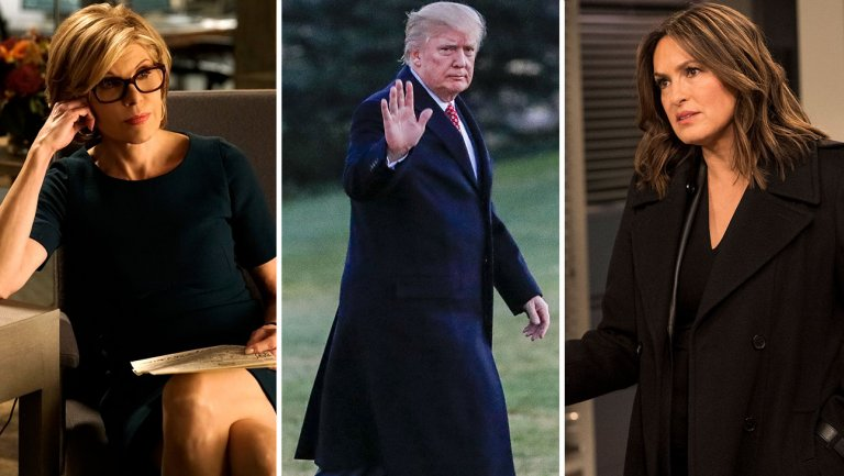 Why TheGoodFight tackled NBC's delayed Trump SVU episode