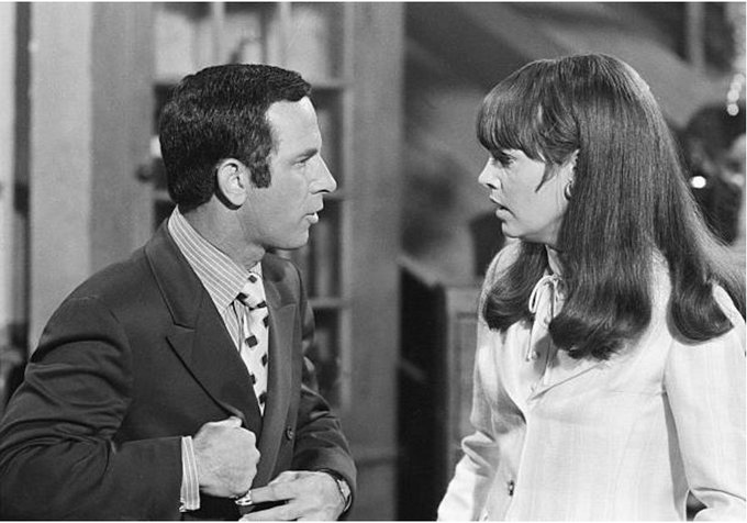 You\re part of the family. - Happy birthday Barbara Feldon With Don Adams in Get Smart