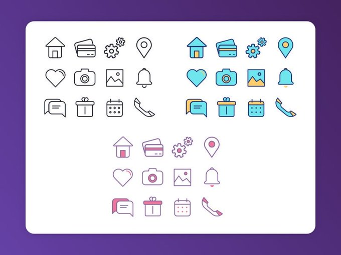 Free vector icon set. Download now icon freebies sketch