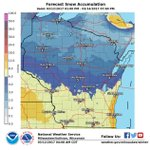 Storm Sunday night into Monday night expected to bring 6 to 8 inches of snow