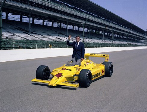 Happy Birthday to 3-time Indianapolis 500 winner and Auto Racing Hall of Famer Johnny Rutherford!