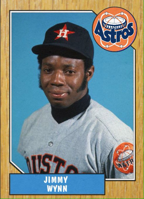 Happy 75th birthday to Jimmy Wynn. Great ball player.