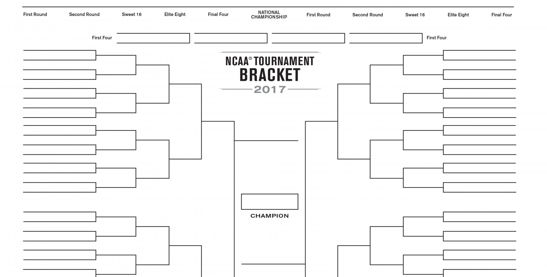 Need a blank bracket to fill out during the #SelectionSunday show?  Got you: https://t.co/WjUVte6kjg https://t.co/eFqLgmu2Ul