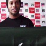 Is Brazilian footballer Ronaldinho coming to Pakistan?