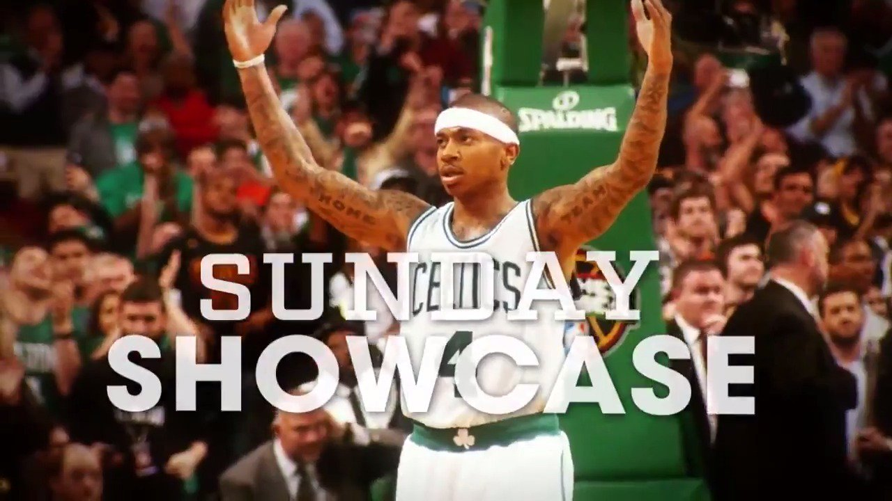Get comfy for the Sunday Showcase.  It's almost time for @chicagobulls-@celtics on ABC. https://t.co/qDlDuXnlw8