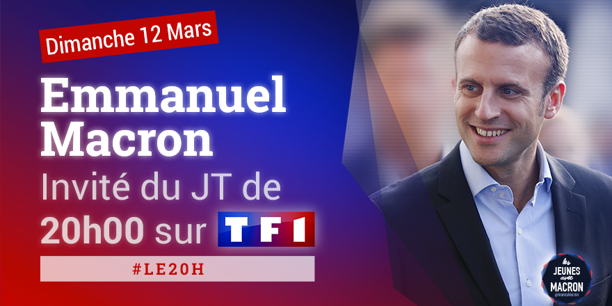 �� #DIRECT @EmmanuelMacron est l'invité du 20H de TF1 #LE20H ➡️ https://t.co/oBhBZLXLqS https://t.co/HorUQx3mgA