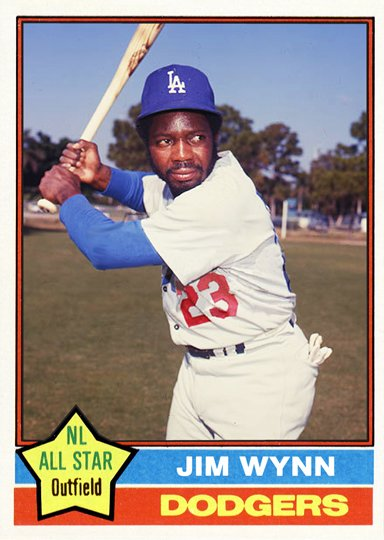 HDT today wishes former Dodger outfielder Jimmy Wynn a Happy Birthday!