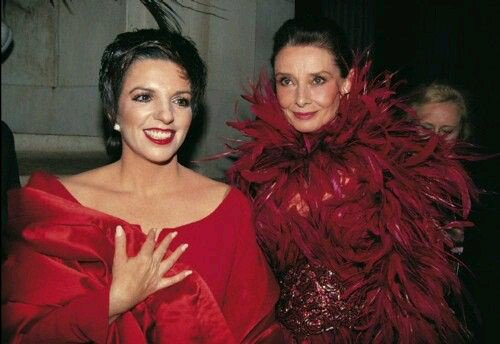Happy Birthday, Liza Minnelli! Seen here with Audrey Hepburn at the 1989