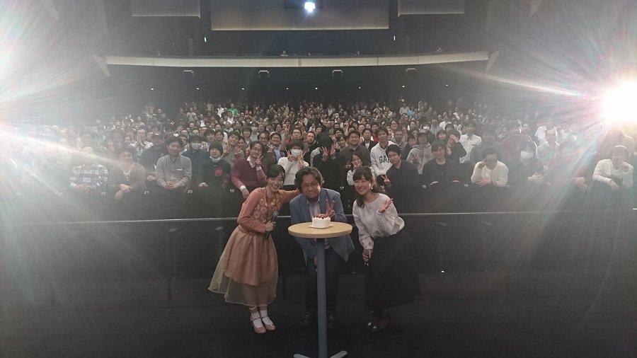【未放映話数上映会】昨日は第7巻発売の未放映話数の上映会でした!夜遅い時間でしたが、多くの方に参加いただき本当ありがとう