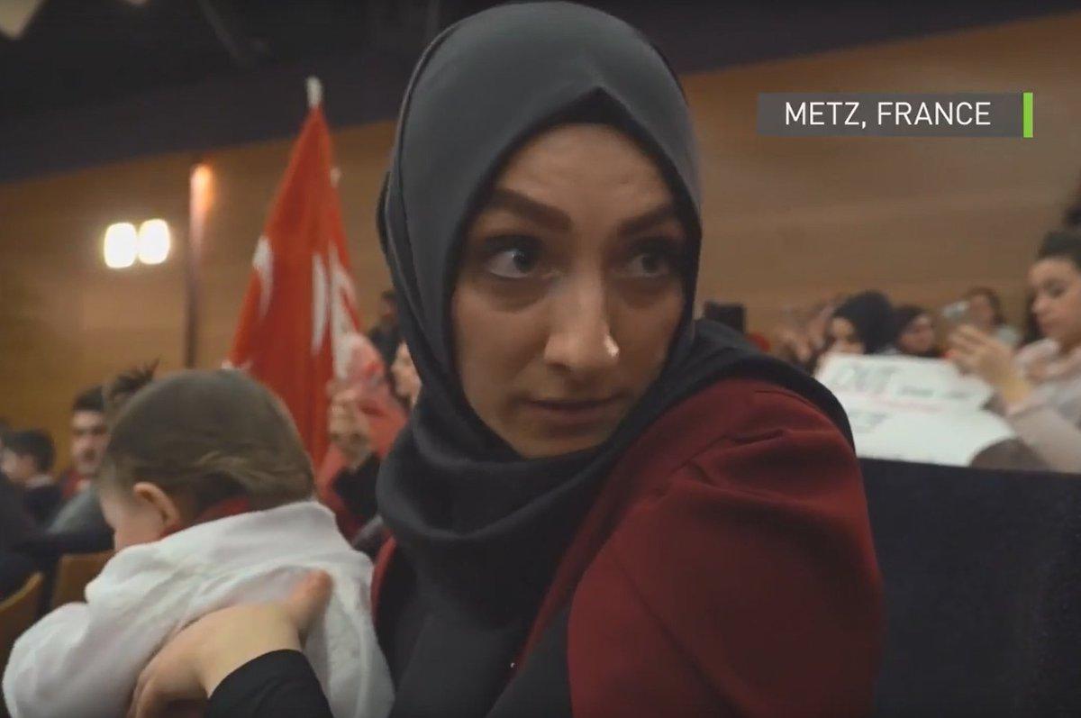 Les #Européens «vont le regretter» : des #Turcs pro-#Erdogan s'expriment depuis #Metz (VIDEO) https://t.co/H7bXNaCHyF