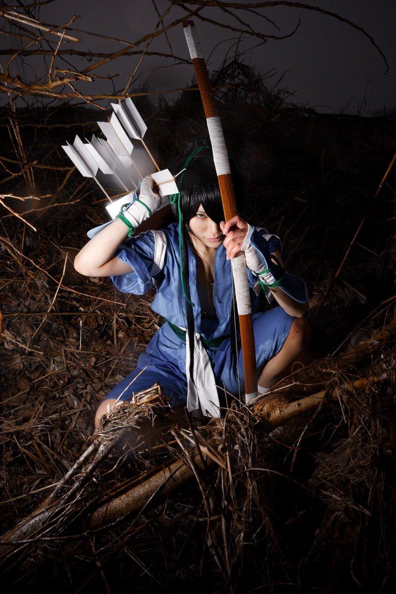 逃げた敵はもう、いませんよ#ドリフターズ #平野耕太#那須資隆与一model マクト 撮影 洋平
