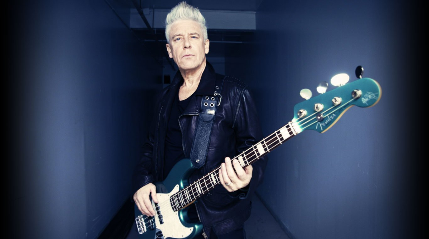 Happy Birthday to bassist Adam Clayton, born on this day 13th March 1960