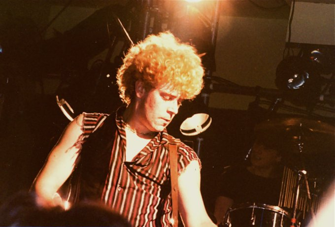 Adam Clayton aged 18 in 1978 is turning 57 today - Happy Birthday