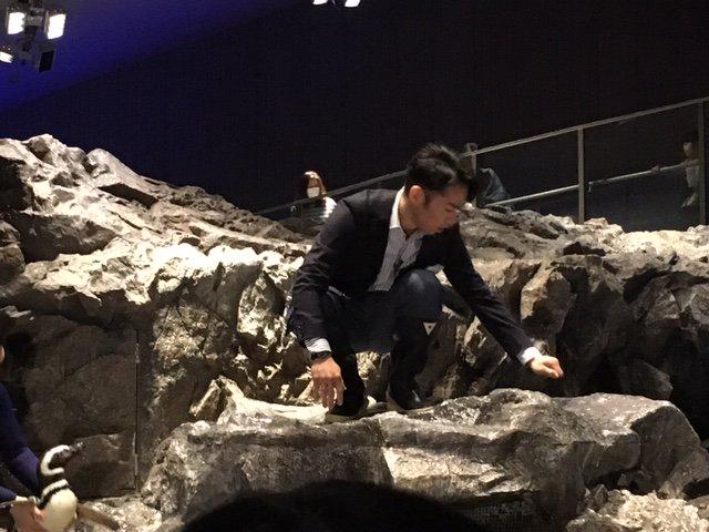 こんにちは。 今週水曜日は髙橋大輔キャスターの出演日です。 取材で訪れた場所には…ペンギンの「群れ」が! 意外な進化を遂げているエンターテインメント施設の裏側をお伝えします。 お楽しみに!