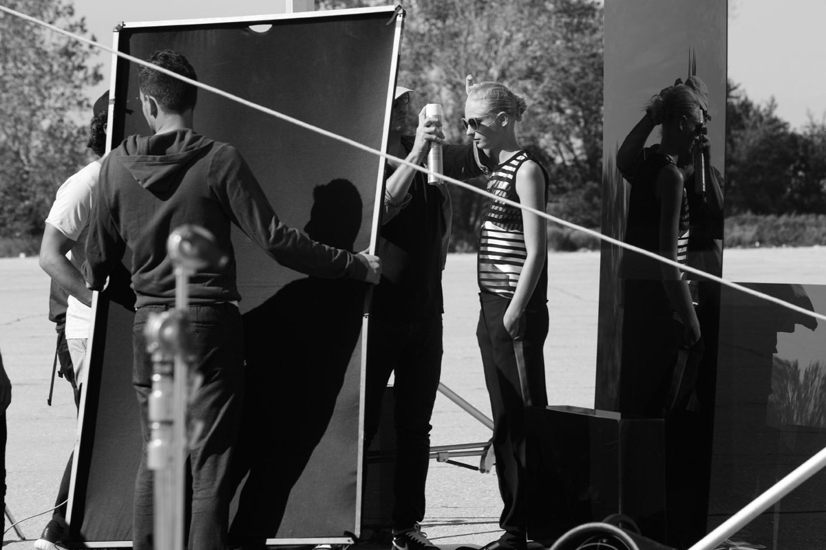 Preparing for the perfect shot: the Spring/Summer 2017 campaign #ThisIsBOSS #Spring2017 https://t.co/7ad7KBMdlE