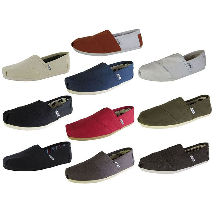 #fashion #style #giveaway Toms Mens Classic Canvas Slip On Casual Loafer Shoe #rt