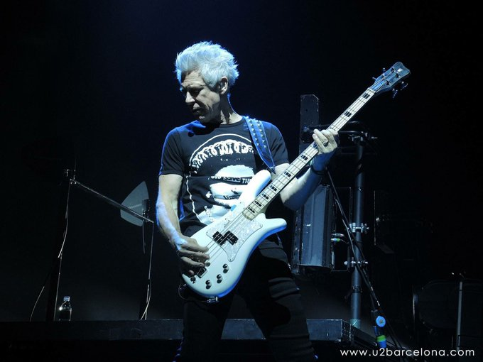 Happy 57th Birthday to Adam Clayton