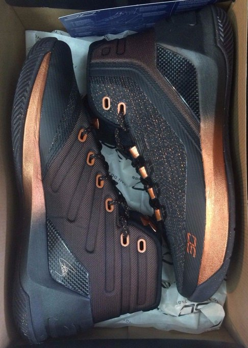 #fashion #style #giveaway UNDER ARMOUR CURRY 3 ASW ALL STAR BLACK SILVER COPPER 1299665-001 SHIPS NOW #rt