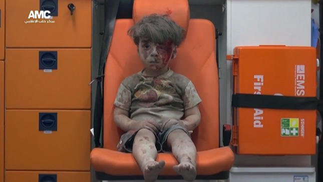 United Nations says 2016 was the harshest year of civil war yet for young children in Syria