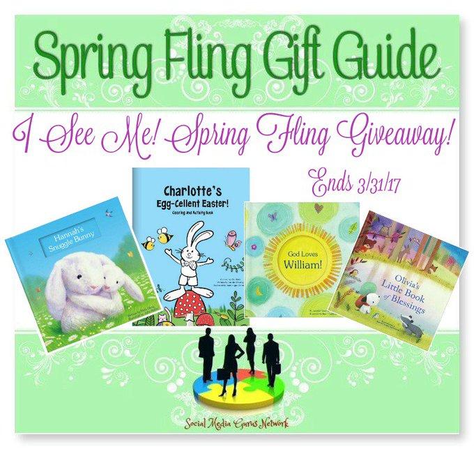 I See Me! Spring Fling #Giveaway Ends 3/31 #SMGN