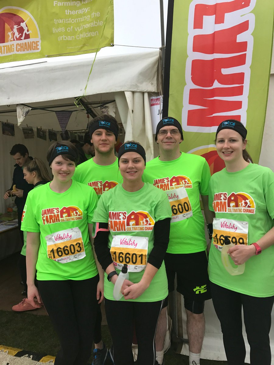 test Twitter Media - Huge congratulations to our team of runners who ran the #BathHalf in support of @JamiesFarm! There are some tired legs in the office today! https://t.co/ly61XXh3wg